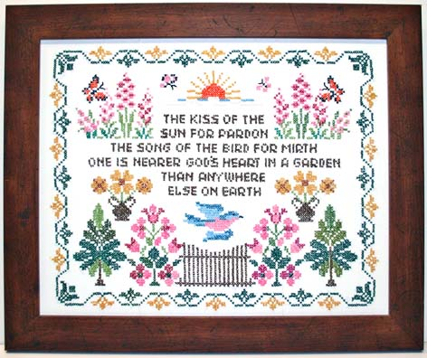 we at the royal county arts know how much time care and effort goes into your needlework we will take as much care framing it as the stitcher did creating